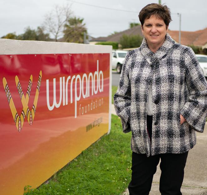 Lisa Cunningham, CEO, Wirrpanda Foundation